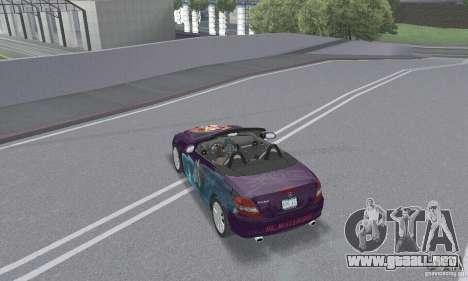 Mercedes-Benz SLK 350 para el motor de GTA San Andreas