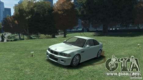 BMW M3 E46 para GTA 4 left