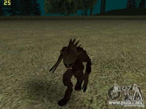 Chupacabra para GTA San Andreas sexta pantalla