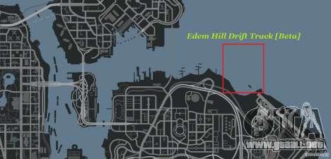 Edem Hill Drift Track para GTA 4 séptima pantalla