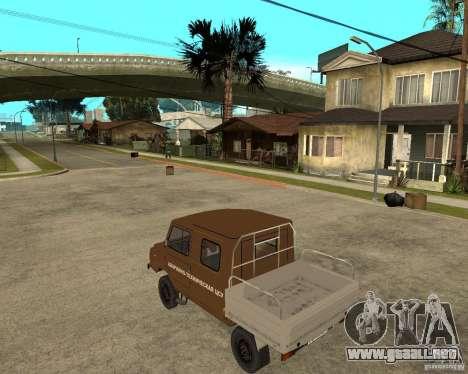 LuAZ-13021-04 para GTA San Andreas left
