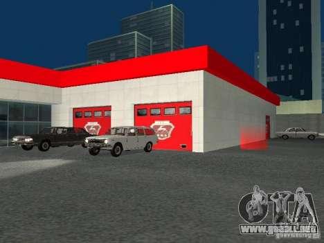 Gaz para GTA San Andreas sexta pantalla