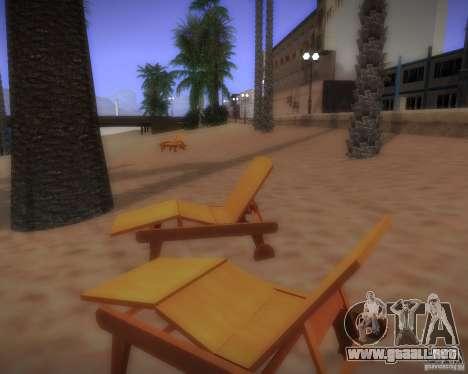 Nuevos patrones de ocio para GTA San Andreas sexta pantalla