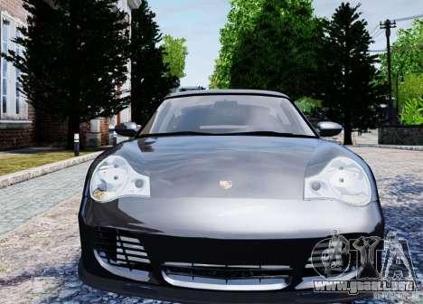 Porsche 911 Turbo S para GTA 4 vista hacia atrás