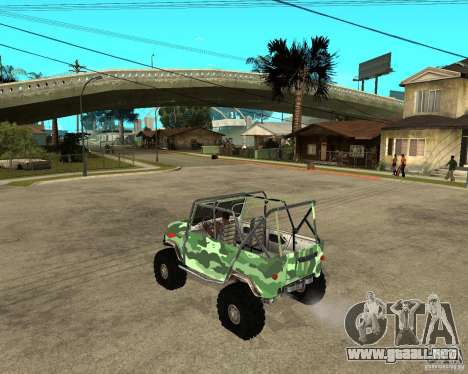 469 UAZ HUNTER para GTA San Andreas left