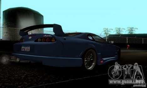 Toyota Supra TRD para la visión correcta GTA San Andreas