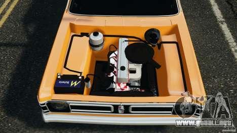 Chevrolet Opala Gran Luxo para GTA 4 vista superior