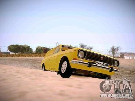 Volga GAZ-24 02 Van para la visión correcta GTA San Andreas