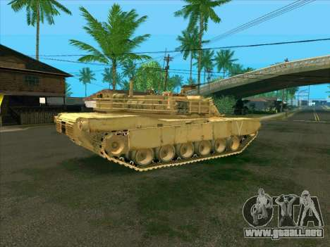 M1A2 Abrams de COD4: MW para GTA San Andreas left