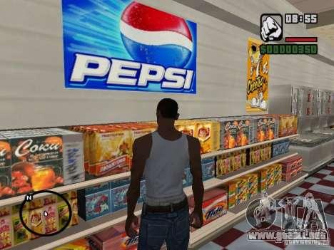 Tiendas de imán para GTA San Andreas segunda pantalla