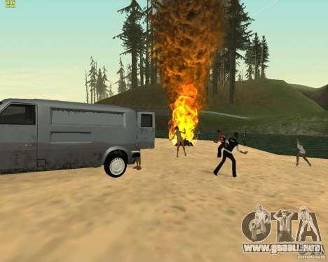 Fiesta de la naturaleza para GTA San Andreas séptima pantalla