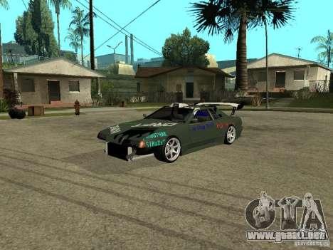 Vinilo en la elegía para GTA San Andreas
