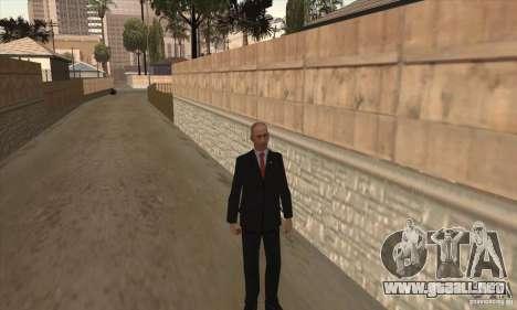 Vladimir Vladimirovich Putin para GTA San Andreas tercera pantalla