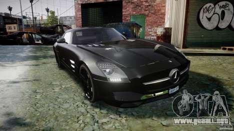 Mercedes-Benz SLS AMG 2010 [EPM] para GTA 4 vista interior