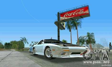 Mazda Savanna RX-7 FC3S para GTA Vice City vista posterior