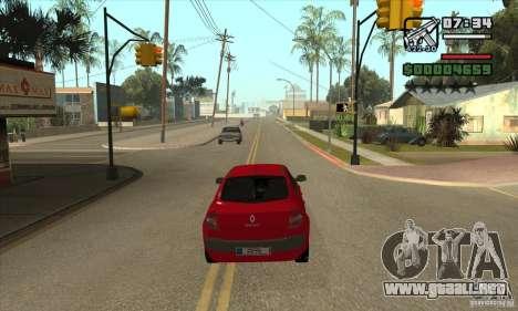 Condujo el rojo-conseguir una estrella para GTA San Andreas segunda pantalla