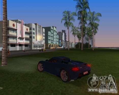Porsche Carrera GT para GTA Vice City vista lateral izquierdo