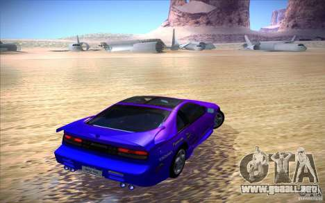 Nissan 300ZX Twin Turbo para la vista superior GTA San Andreas