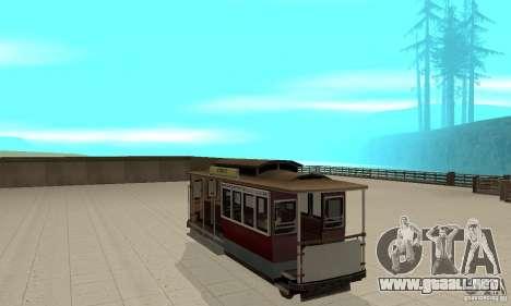 Tram para la visión correcta GTA San Andreas