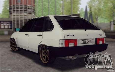 VAZ 21093 para GTA San Andreas left