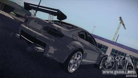 BMW M3 E92 Tuned para visión interna GTA San Andreas