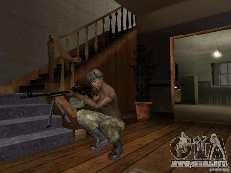 Sombreros de Call of Duty 4: Modern Warfare para GTA San Andreas octavo de pantalla
