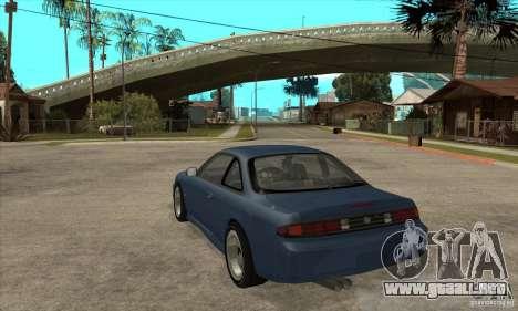 RODrifter Nissan Silvia S14 para GTA San Andreas vista posterior izquierda