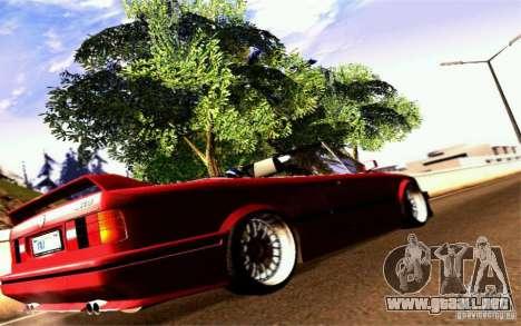 BMW E30 M3 Cabrio para la visión correcta GTA San Andreas