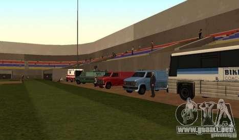 Campo de béisbol animado para GTA San Andreas tercera pantalla