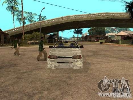 VAZ 2108 Convertible para GTA San Andreas left