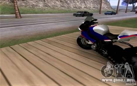 BMW S1000 RR para GTA San Andreas left