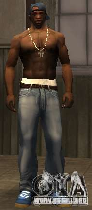 Los nuevos pantalones vaqueros para CJ para GTA San Andreas