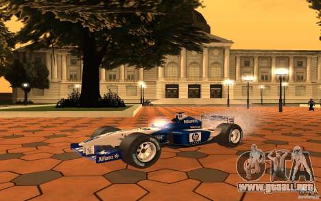 BMW F1 Williams para GTA San Andreas left