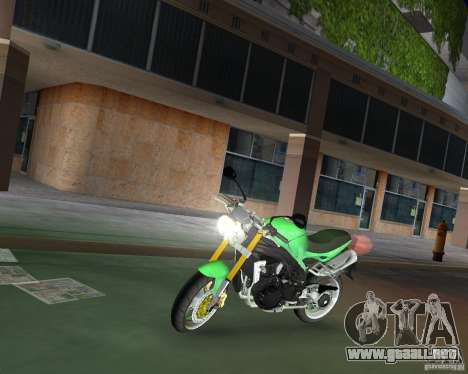 Triumph Speed Triple para GTA Vice City