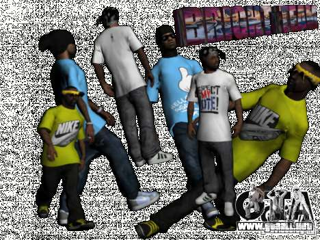New Ballas Pack para GTA San Andreas