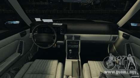 Ford Mustang GT 1993 v1.1 para GTA 4 vista hacia atrás