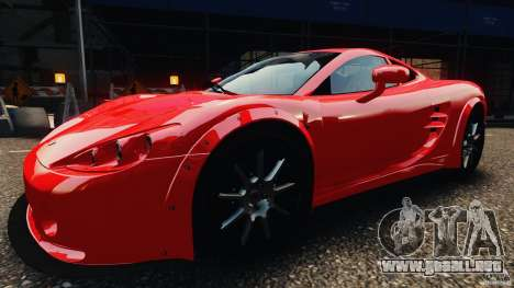Ascari KZ1 v1.0 para GTA 4 Vista posterior izquierda