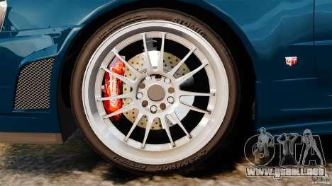 Nissan Skyline GT-R R34 Fast and Furious 4 para GTA 4 vista interior