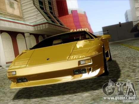 Lamborghini Diablo VT 1995 V3.0 para vista lateral GTA San Andreas