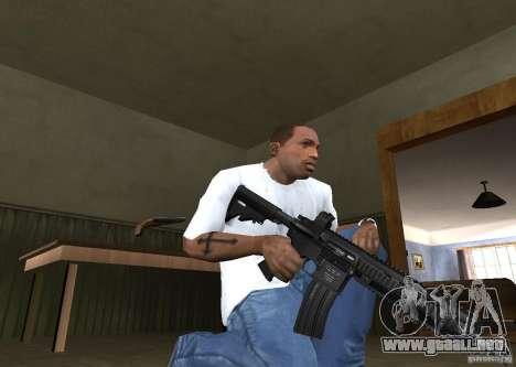 HK 416 para GTA San Andreas segunda pantalla