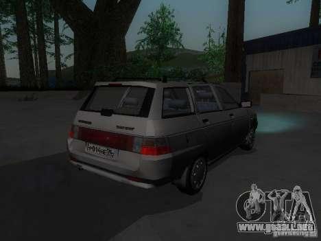 VAZ 21114 para la visión correcta GTA San Andreas