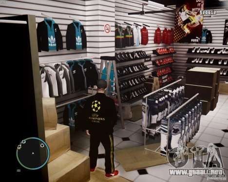 Foot Locker Shop v0.1 para GTA 4 novena de pantalla