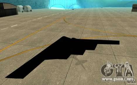 B2-Stealth para la visión correcta GTA San Andreas
