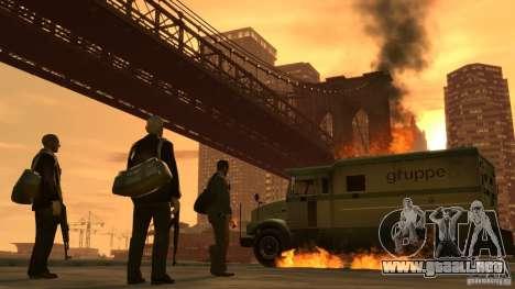 Imágenes de arranque en el estilo del GTA IV para GTA San Andreas quinta pantalla