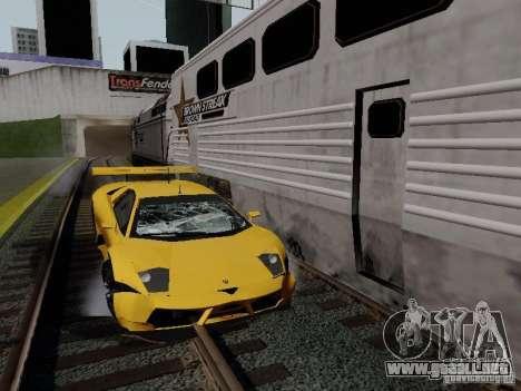 Crazy Trains MOD para GTA San Andreas sexta pantalla