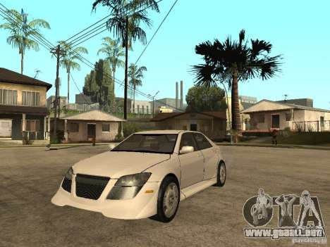 Lexus IS300 NFS Carbon para GTA San Andreas