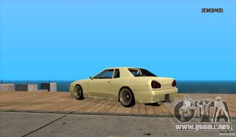 Elegy Drift Style para GTA San Andreas left