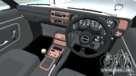 Nissan Skyline 2000 GT-R para GTA 4 visión correcta