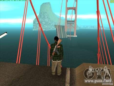 Takomskij Bridge (puente de Tacoma Narrows) para GTA San Andreas