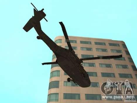 UH-60 Black Hawk para la visión correcta GTA San Andreas